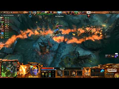 EHOME vs Newbee Game 2  Dota 2 Champions League Groupstage  DurkaDota Scantzor