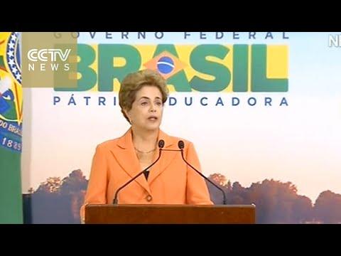 Brazil senator recommends Rousseff impeachment trial