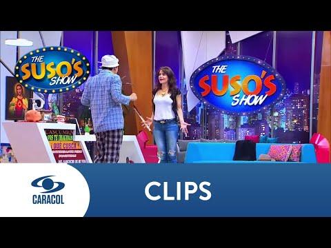 Suso descresta a Flora Martínez con su habilidad para bailar tango | Caracol Televisión