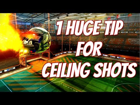 1 HUGE Tip That WILL IMPROVE Your Ceiling Shot Game | Rocket League Tutorial/Tips/Guide