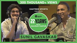 Sunil Gavaskar's Sledging Stories From Pakistan and West Indies | 22 Yarns With Gaurav Kapur