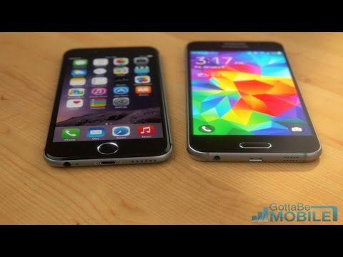 NEW Samsung Galaxy S6 vs. iPhone 6 Amazing Concept 2015!