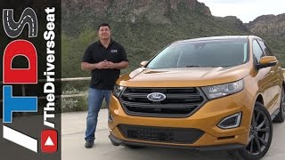 2015 Ford Edge - Poor Man's X5 (Car Review by Ron Doron)