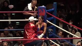 NAOKO FUJIOKA VS YOKASTA VALLE pelea completa--- 女子世界五階級制覇!!WBO女子世界Lフライ級タイトルマッチ 藤岡奈穂子登場!