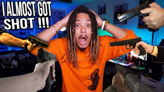 STORY TIME | I ALMOST GOT SHOT DURING A SHOOTOUT GUN FIGHT !