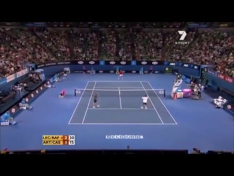 Funniest Tennis Match; Leconte⁄Rafter Vs Arthurs⁄Cash