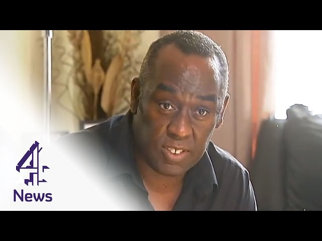 Novelist Alex Wheatle talks about his experience of care homes | Channel 4 News