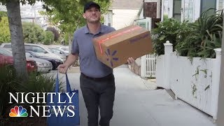 Walmart To Offer Same-Day Grocery Delivery In 100 Markets | NBC Nightly News
