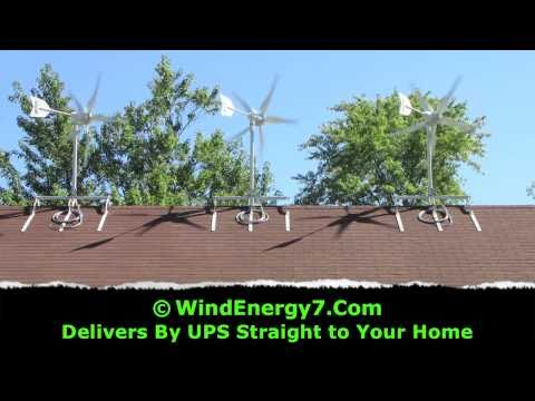 Home Wind Generator - WindEnergy7 Home Wind Generator Kit