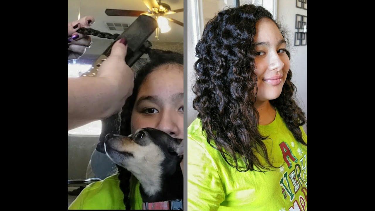 Braid Curls With Flat Iron Hair w Braids Flat Iron