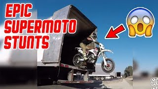 Kranke Supermoto Stunts! 😅 Reaktion von LifeOn2Wheels