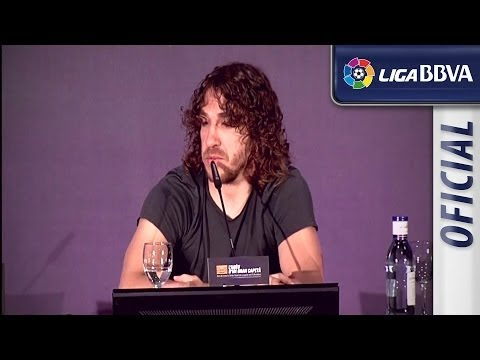 Musical Matchday: Puyol says goodbye to FC Barcelona - HD