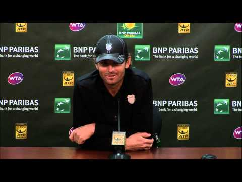 Caroline Wozniacki Interview-Bombs Mardy Fish