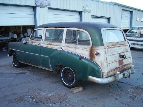 1952 Chevy Station Wagon Tin Woody For Sale Call 1 864