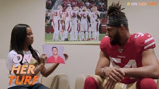 Pats' Lauren Spencer, 49ers' Keiana Martin on journey to NFL | Football is Female S2E1 | NBC Sports