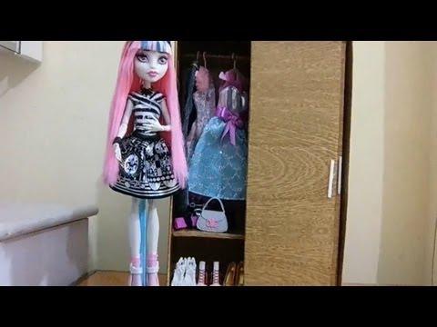 Como fazer um guarda-roupa para boneca Monster High. Pullip. Barbie e etc