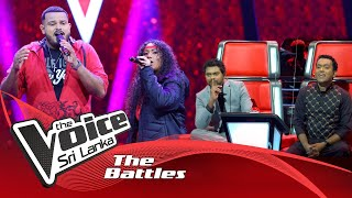 The Battles : Dellon Juriansz V Enza Rathnayaka |Locked Out Of Heaven | The Voice Sri Lanka