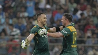 Ind vs SA 5th ODI | AB De Villiers: Du Plessis Hundred Was The Best Of The Three Centuries