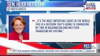 KX News: Heitkamp to Vote Against U.S. Supreme Court Nominee Judge Brett Kavanaugh