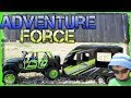 Adventure Force Outdoor Adventure Jeep Wrangler & Utility Trailer Unboxing Water Play Fun mp4