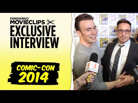 Chris Evans 'Avengers: Age of Ultron' Exclusive Interview: Comic-Con (2014) HD