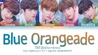 Download Song TXT (투모로우바이투게더) - Blue Orangeade (Color Coded Lyrics Eng/Rom/Han/가사) Free StafaMp3