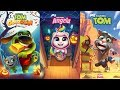 My Talking angela Halloween - My Talking Tom - Talking Tom Gold Run Candy Side