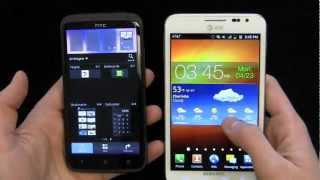 HTC One X vs. Samsung Galaxy Note Dogfight Part 1