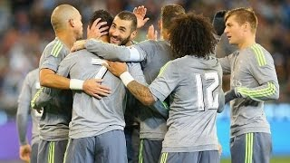 Real Madrid 4-1 Manchester City | Goles | Amistoso | 24/07/2015