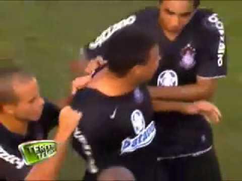 Golaço De Ronaldo - Corinthians 3 X 1 Santos, Narração  Luciano De Vale, Da Band.flv video
