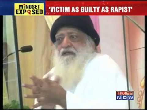 Asaram Bapu's unacceptable remark