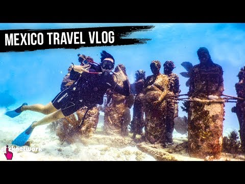 Mexico Travel Vlog (Chichen Itza, Cave Pool Diving, Street Art) - Rozz Recommends: Unexplored EP5