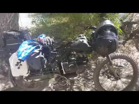 Motoped Survival 125cc with Bug Out Kit