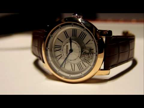 Cartier Rotonde Astrotourbillon Watch