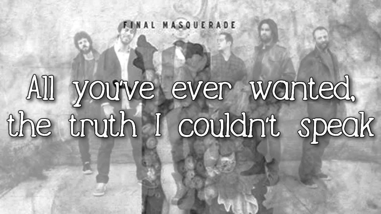 Linkin Park Lyrics Wallpaper Linkin Park Final Masquerade