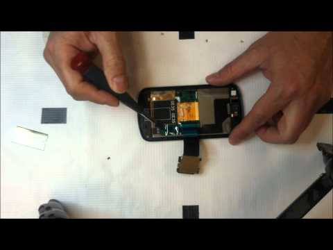 Samsung Stratosphere i405 disassembly
