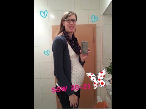 Schwangerschaftsupdate #03 / 20-21SSW/ meine Pflegeprodukte in der Schwangerschaft