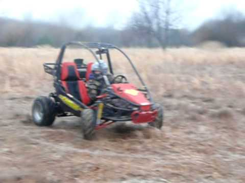 Carbide 150cc Dune Buggy in Ice & Dirt Day 1