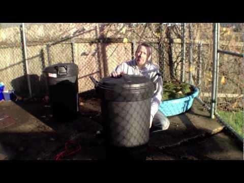 DIY Rotating Compost Bin (Tumbler) for $12
