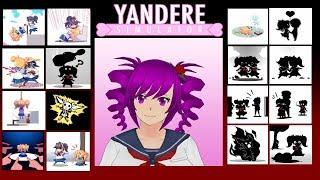 All of Kokona's Elimination Methods - Yandere Simulator