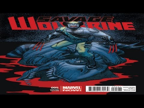 Nerd Talk episode 8 Savage Wolverine issue 5 review