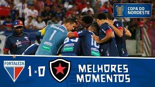 Fortaleza 1 x 0 Botafogo | Gol e melhores momentos | Final da Copa do Nordeste 2019 | Jogo de ida