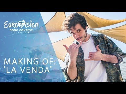 'LA VENDA': Making of VIDEOCLIP | Eurovisión 2019