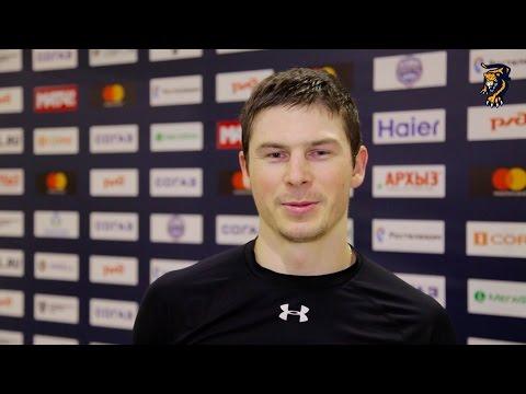 Илья Крикунов – об игре с «Северсталью»