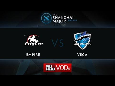 Empire - Vega, Shanghai Major EU Quali, Play-Off, Game 2