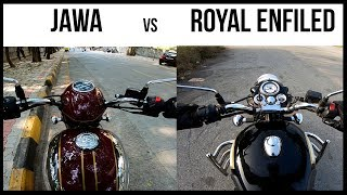 5 Reasons to Buy ROYAL ENFIELD over JAWA and Viceversa