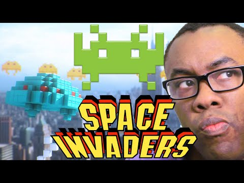 SPACE INVADERS & PIXELS - The New Video Game Movie? : Black Nerd