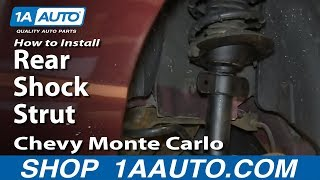 How To Install Replace Rear Shock Strut 2000-07 Chevy Monte Carlo