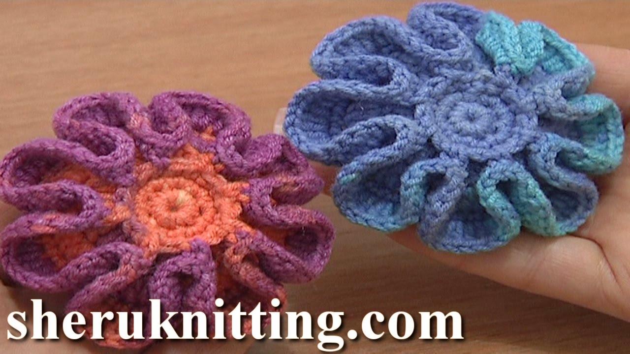 Crochet Flower Part 1