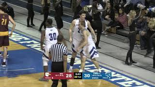 Men's Basketball defeats Salisbury 87-71 in CAC Semi-Finals